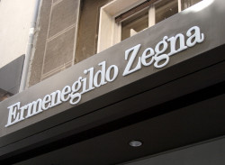 The Italian menswear luxury group Ermenegildo Zegna