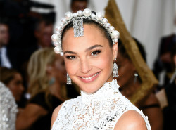 "Actress and friend of the brand Gal Gadot played the part in Tiffany diamond jewellery at the 2019 ""Camp: Notes on Fashion"" Met Gala. Credit: Getty Images"
