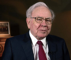 Warren Buffet, of Berkshire Hathaway