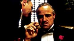 Marlon Brando in The Godfather (1972)—the ultimate family business movie?