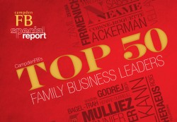 Who are the top 50 family business leaders in the world?